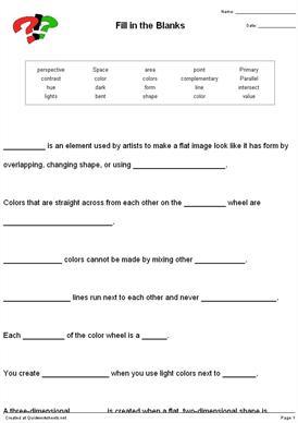 Cloze worksheets high school