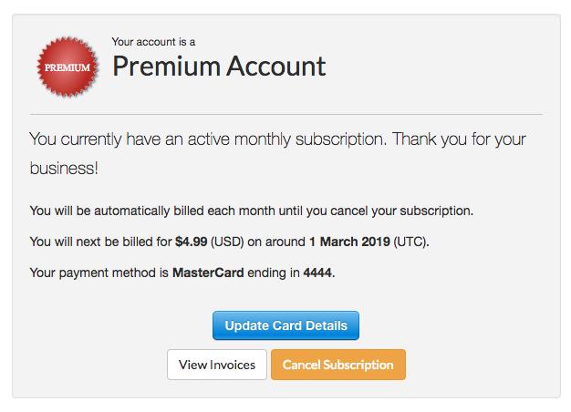 Premium Infobox