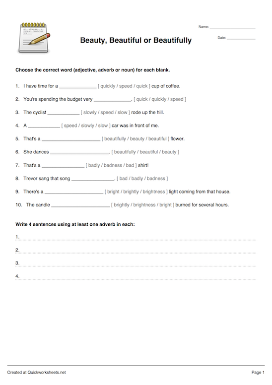 Sentence fill in the blank worksheet maker quickworksheets worksheet thumbnail ibookread