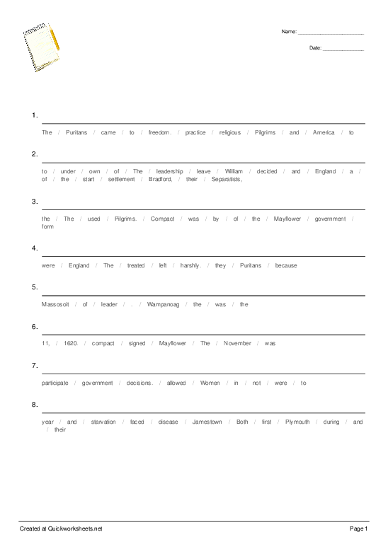 Untitled Worksheet - Worksheet Thumbnail