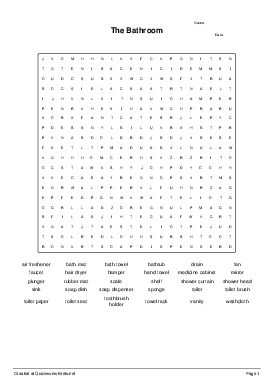 shared wordsearch worksheets. Black Bedroom Furniture Sets. Home Design Ideas