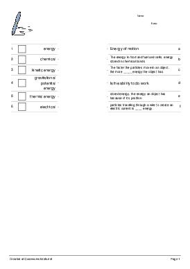 Untitled Worksheet - Worksheet Thumbnail
